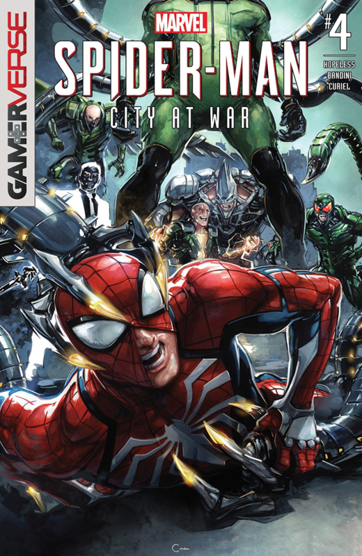 Spider-Man: City at War  4