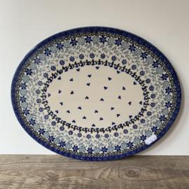 Ovale onderzetter 35 x 27 cm