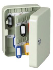 Sleutelkast MAUL 'SK 2' (40 sleutels / gelakt staal / 20,5 x 16,9 x 8,5 cm)
