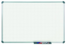 Whiteboard MAULoffice, 100 x 150 cm, ruit 20 mm