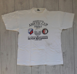 Origineel Feyenoord fanshirt 'Amstel Cup Finale 02/03' (maat XL)
