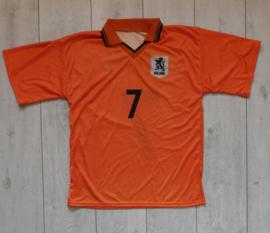Replica Oranje / Nederlands elftal thuisshirt (Kuyt, 7) (Maat XS)