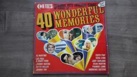 Vinyl lp: Various - 40 Wonderful Memories (set van 2)