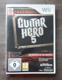 Guitar Hero 5 (Nintendo Wii game)