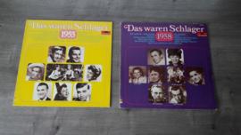 Various Artists - Das waren Schlager vinyl lp's (6 stuks totaal)