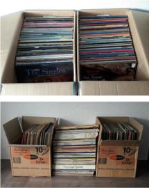 Totale voorraad / partij / collectie vinyl (590 artikelen)
