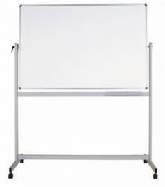 Whiteboard MAULstandaard, 120 x 220 cm, mobiel, kantelbaar