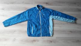 Originele Puma sportjas, lichtblauw (maat XL)