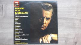 Vinyl lp: Herbert von Karajan - Opera Intermezzi