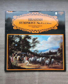 Vinyl lp: Brahms Symphony no. 4 (in E minor)