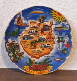 Vakantiebordje Gran Canaria (type 1)