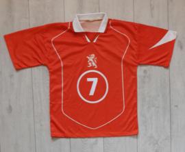 Replica Oranje / Nederlands elftal thuisshirt (Kuyt, 7) (Maat S)