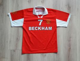 Replica Manchester United thuisshirt (Beckham, 7) (Maat: 158/164)