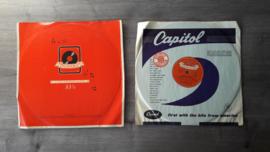 Set van vier 10 inch vinyl platen (3x 78 + 1x 33 1/3 rpm)