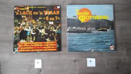 Johnny Hoes vinyl lp's (11 stuks totaal)