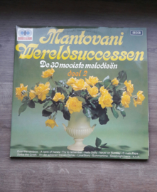 Vinyl lp: Mantovani Wereldsuccessen - De 30 mooiste melodieën (deel 2) (2 LP)