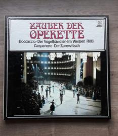 Vinyl lp: Zauber der Operette (Querschnitt) (3 LP)