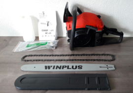 Benzinemotor- kettingzaag Winplus CS 4600 professional