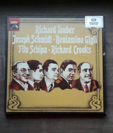 Vinyl lp: Richard Tauber, Joseph Schmidt, Beniamino Gigli, Tito Schipa, Richard Crooks (4 LP)