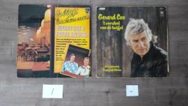 Gerard Cox vinyl lp's (5 stuks totaal)