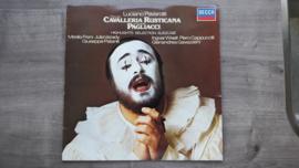 Vinyl lp: Luciano Pavarotti - Cavalleria Rusticana Pagliacci