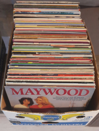 Collectie van 144 vinyl lp's (€ 3,50 p.s. / staffelkorting)