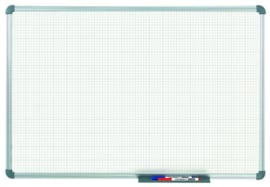 Whiteboard MAULoffice, 90 x 120 cm, ruit 10 mm
