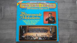 Vinyl lp: Fischer Chöre - 28 Beroemde Melodieën (set van 2)