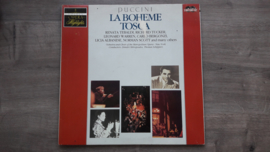 Vinyl lp: Giacomo Puccini - La Bohème + Tosca (set van 2)