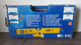 Laserwaterpas met statief Powerfix 670