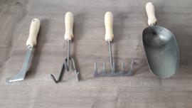 Set tuingereedschap, 4 delig
