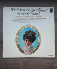 Vinyl lp: De Mastreechter Staar in operetteland (Marilyn Tyler, Willy Caron, Limburgs Symphonie orkest)