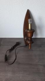 Vintage wandlamp (34,0 cm lang)