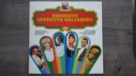 Vinyl lp: Favoriete Operette Melodieën