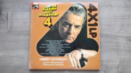 Vinyl lp: Herbert von Karajan - Luisterplezier met Hilversum 4 (set van 4 platen)