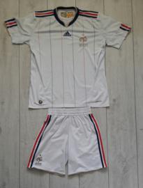 Origineel Frankrijk (France) voetbal uittenue (Maat S)