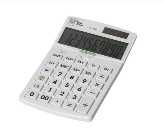 Zakelijke rekenmachine TopCalc / EcoCalc G-260 (Quantore)