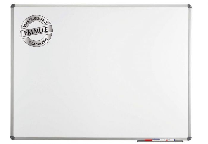 Whiteboard MAULstandaard, 90 x 120 cm, emaille