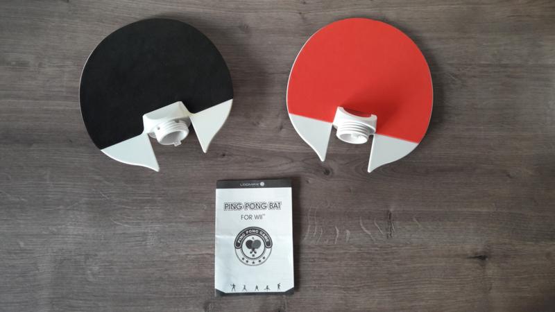 Wii Ping Pong Bat Duo