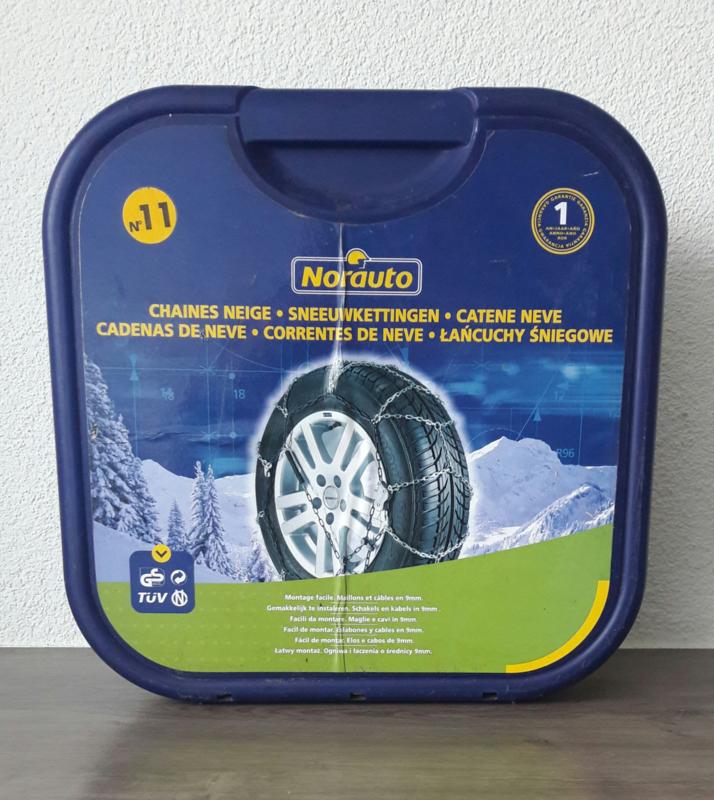Sneeuwkettingen set Norauto (nr. 11) in handige opbergkoffer