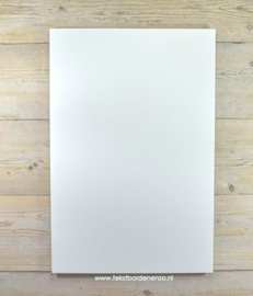 """Tekstbord """"Eigen tekst"""", 40 x 60 cm // BUITEN"""