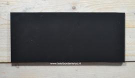 """Tekstbord """"Eigen tekst"""", 13 x 30 cm // BUITEN"""