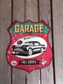Tekstbord Garage full service (schild)