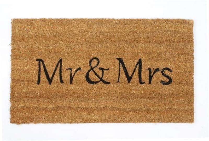 Deurmat Mr & Mrs