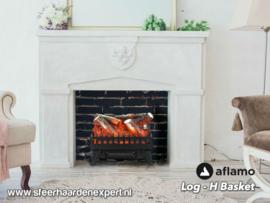 Aflamo Logset Large - Elektrische inzethaard met verwarming