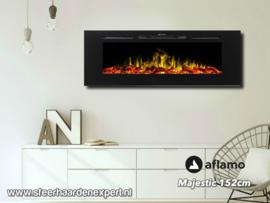 Aflamo Majestic 152 - Wall Fire Elektrisch