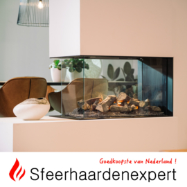 Faber e-Matrix 800/500-RD - luxe elektrische waterdamphaard