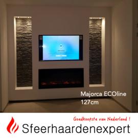 e-Fire Majorca ECOline 127cm - Elektrische sfeerhaard inbouw