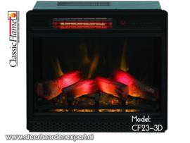 Classicflame CF23-3D - Elektrische inbouwhaard
