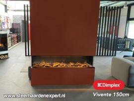 Dimplex Vivente 150 | 3 zijdige elektrische inbouwhaard